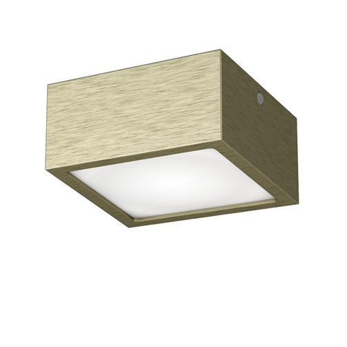 Светильник Lightstar 213921 ZOLLA QUAD LED-SQ Green Bronze