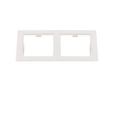 Рамка Lightstar 214526 DOMINO Double QUADRO White