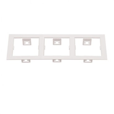 Рамка Lightstar 214536 DOMINO Triple QUADRO White