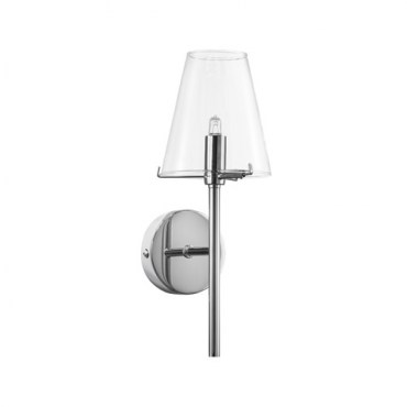 Бра Lightstar 758614 DIAFANO 1х40W Chrome/CLEAR