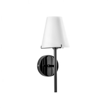 Бра Lightstar 758617 DIAFANO 1х40W Black Chrome/White