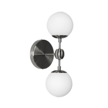 Бра Modo Sconce 2 Globes Chrome 12418