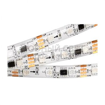 Лента SPI-5000SE-AM 12V RGB (5060, 300 LED x3,1804)